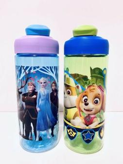 Water Bottle ZAK! Paw Patrol & Frozen Kid's 16 Oz BPA Free