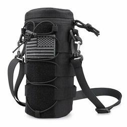 Water Bottle Pouch Molle Millitary Tactical Holder Storage B