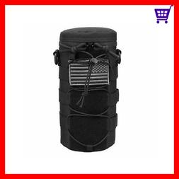 Water Bottle Pouch Molle Tactical Holder Storage Bag For 32O