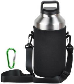 EEEKit Water Bottle Sleeve For 64oz YETI Rambler Ozark Rtic