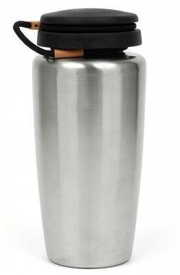 Nalgene Water Bottle Stainless Steel Drinking Backpacker wit