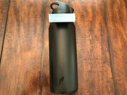 NIKE Water Bottle Straw Stainless Steel 32 OZ Ounce Black Bl
