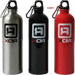 RDX Water Bottle Training Fitness Sports Gym Outdoor Aluminu