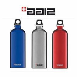 Sigg Water Bottle Traveller Design BPA Free Aluminium 0.6L 1