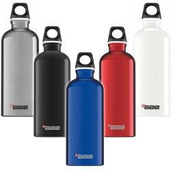 SIGG Water Bottle Traveller Red 0.6 l Outdoor Travel Portabl