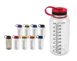 Water Drink Bottle Measurements Measure Mix Smoothies Shaker
