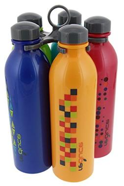 REDUCE WaterWeek Classic Reusable Water Bottle Set with Carr