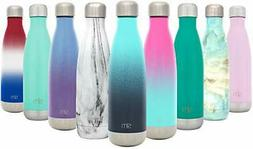 Simple Modern 17 oz Wave Water Bottle - Stainless Steel Doub