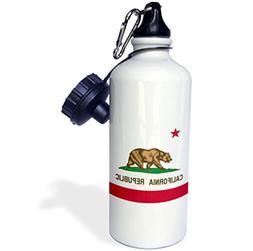 3dRose wb_158295_1 Flag of California Republic-Us American S