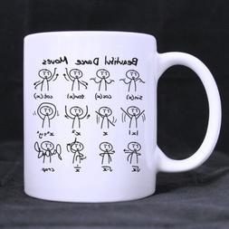 "White Coffee Mug - Funny Cute Math Mathematic Expressions ""B"