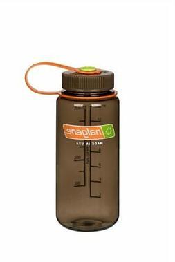 Nalgene Wide Mouth 16oz Loop Top Water Bottle Woodsman w/Bro
