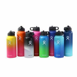 Hydro Flask Wide Mouth Stainless Steel Bottle Sport Flex Cap