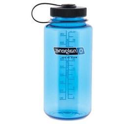 Nalgene Wide Mouth Water Bottle 1 Quart Slate Blue