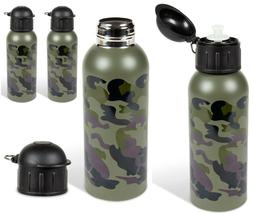 Wide Mouth Water Bottle -  25oz. - Indoor Outdoor Refillable