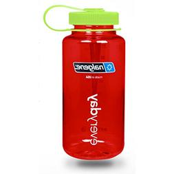 Nalgene Wide Mouth Water Bottle in Christmas Colors - 32 oz.
