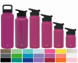 Simple Modern Summit Wide Mouth Water Bottle With Extra Lid
