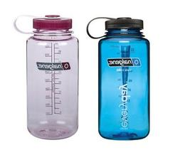 Nalgene 32 ounce  Wide Mouth  Water Bottles - Set of 2