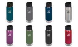 Klean Kanteen Wide Vacuum Insulated Water Bottle w/Cafe Cap,