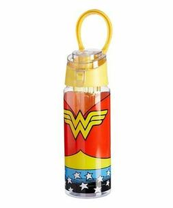 Wonder Woman Suit 22-Oz. Infuser Water Bottle With Handle  B