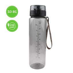XDea Sports Water Bottle 32oz Large,One Click Open Non-Toxic BPA