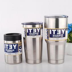 YETI Rambler 30/20/12 Oz Tumbler Cup Stainless Steel with St